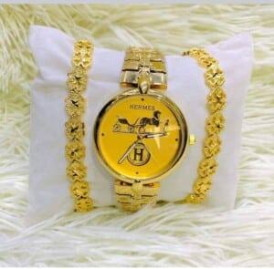 Ensemble Montre bracelet Hermes