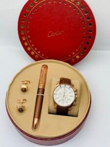 Coffret Cartier pour Homme