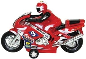 Moto motard friction