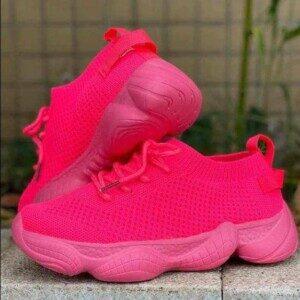 Baskets roses comfy pour...
