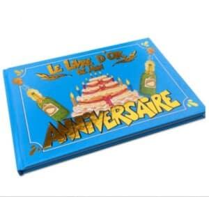 Livre d'or anniversaire