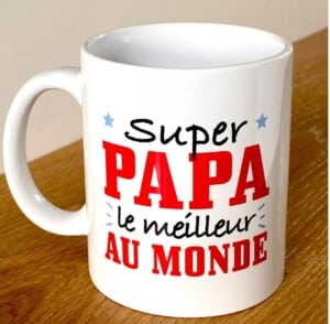 MUG SUPER PAPA, LE...