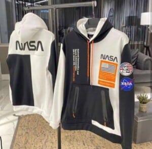 Pull à capuche NASA