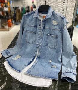 Jackette en jean style...