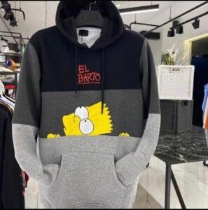 Sweatshirt à capuche Bart...