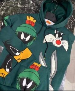 Sweatshirt à capuche personnages...