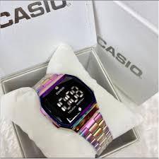 Casio Touch watch Arc-en-Ciel/Multicolore